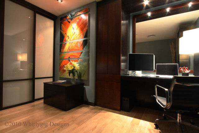 Contemporary & Efficient Office Space contemporary-home-office