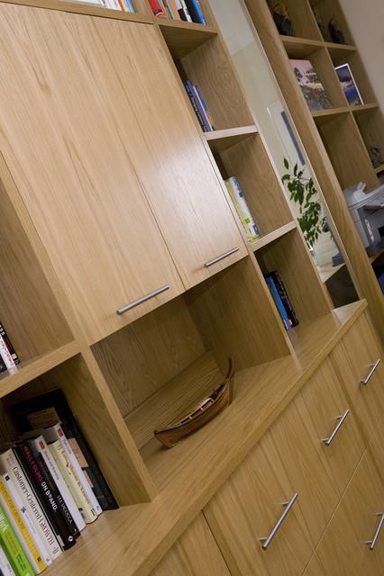 London, UKのコンテンポラリースタイルの書斎・仕事部屋の写真