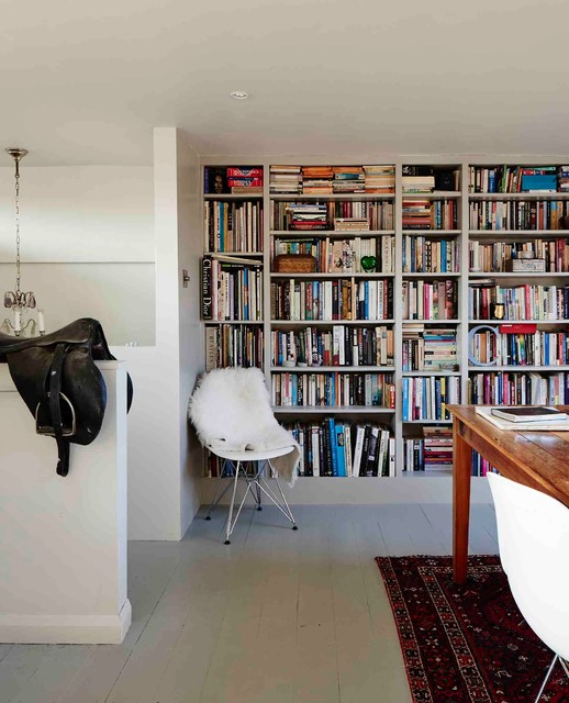 Contemporary Home Office & Library