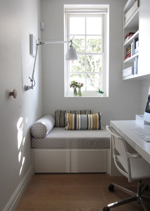 Beautiful Small Space. Contemporary Home Office by Sydney Interior Designers & Decorators ANNA CARIN Design