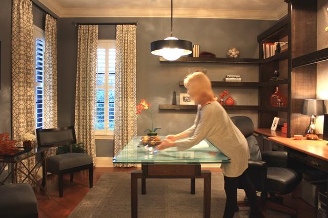 Shari Misturak, IN Studio & Co. Interiors contemporary-home-office