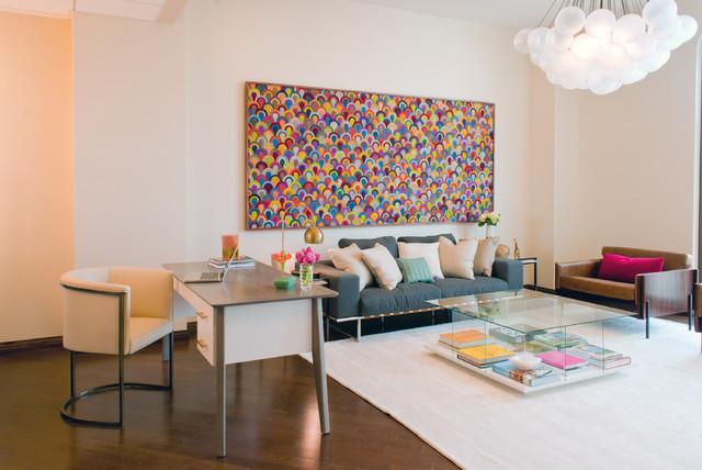 Hide Art Chelsea Handler S Office Shift Modern Home And