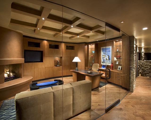 Rupprecht Residence contemporary-home-office