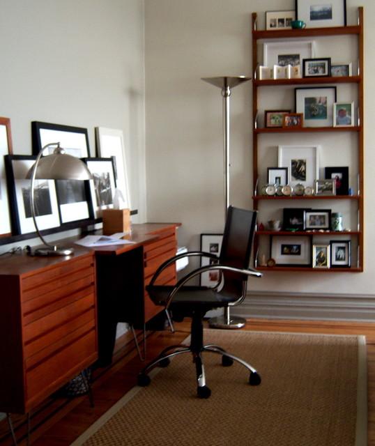 mid century desk contemporary home office century office