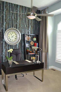 Amazing   Contemporary  Home Office  Omaha  By Advantage Development Inc
