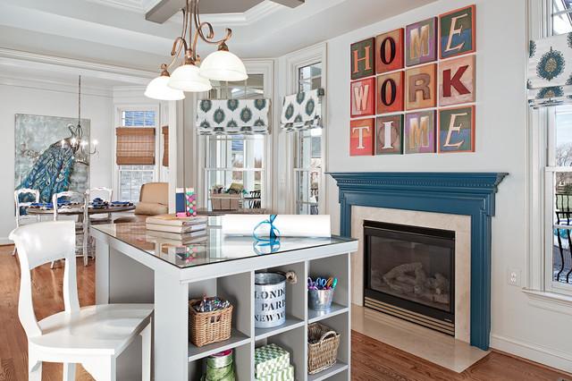 Contemporary Homework Room Contemporary Home Office