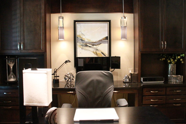 Contemporary Masculine Home Contemporary Home Office