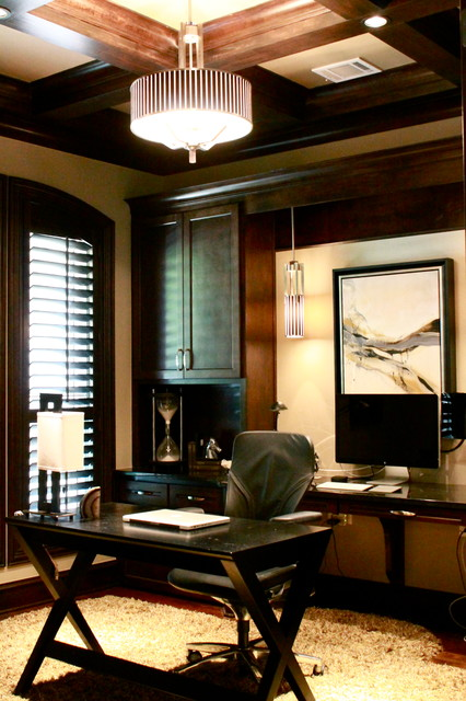 Contemporary Masculine Home Office
