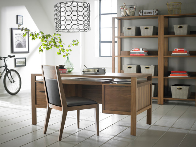 Contemporary office desks contemporary home office toronto by almira fine furniture - Home office furniture toronto ...
