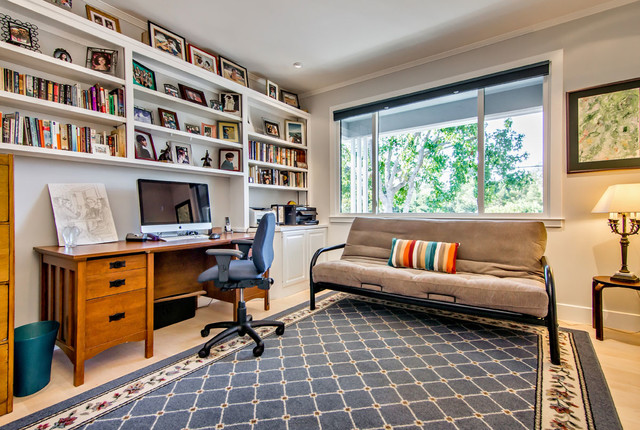 Charmant Contemporary Prairie Style Addition + Remodel Contemporary Home Office