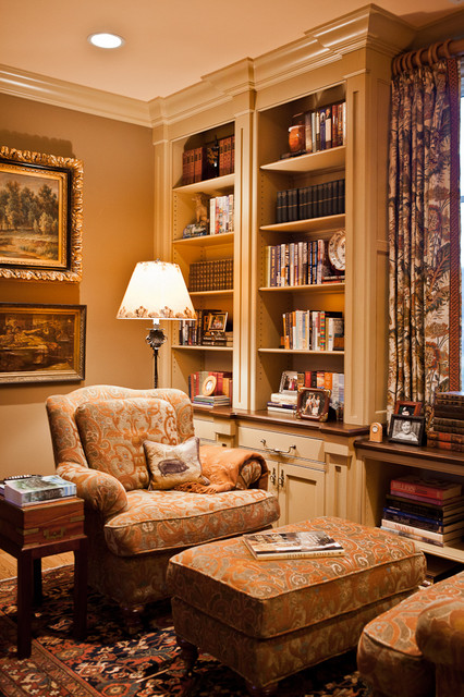 Cooper Creek Library traditional-home-office