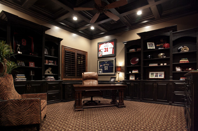 Cottonwood Traditional Home Office Salt Lake City By Kristen Brooksby Interior Design