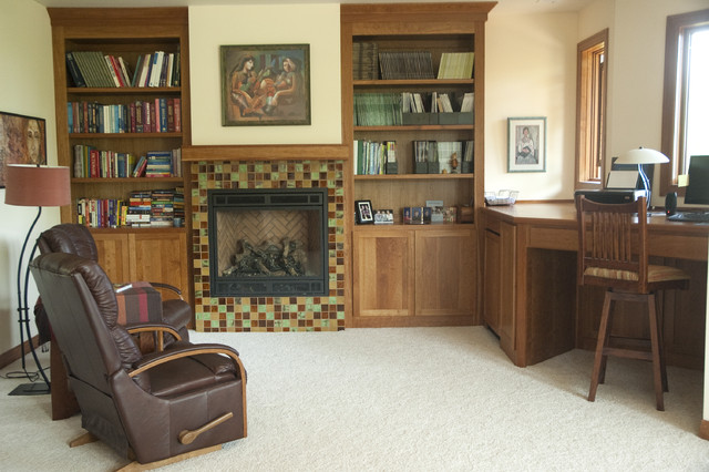 Country Home in McMinnville, OR eclectic-home-office
