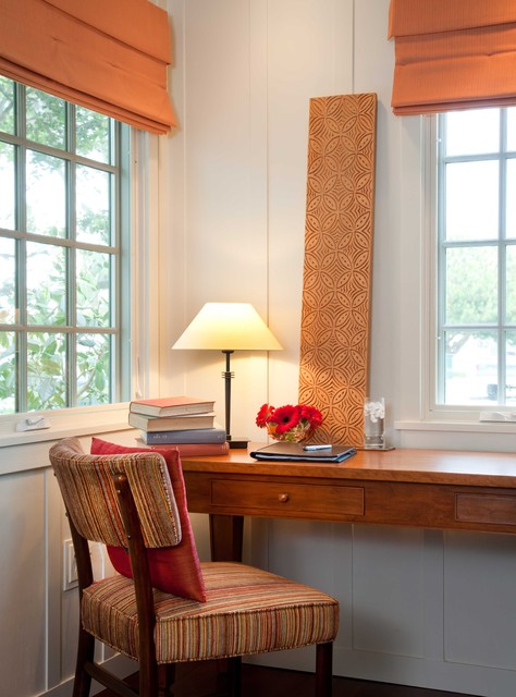 Small Cottage Interiors Cozy Home Office Cottage: By Gatling Design