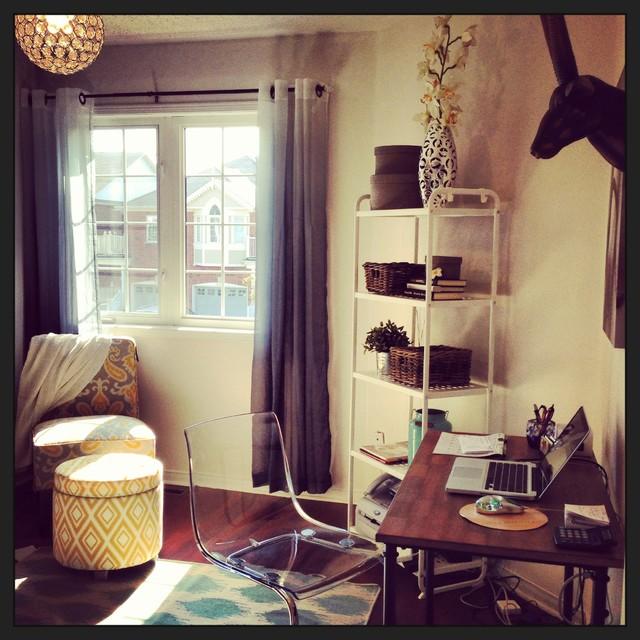 Cozy Suburban Home Office