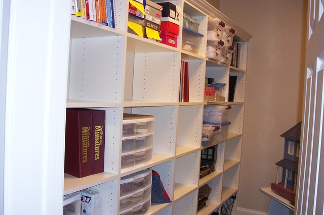 Craft and Hobby Rooms traditional-home-office