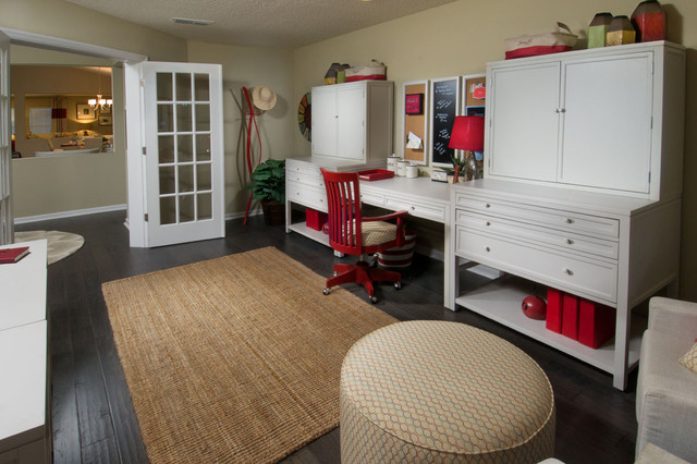 Craft Room Traditional Home Office Austin By Allegro