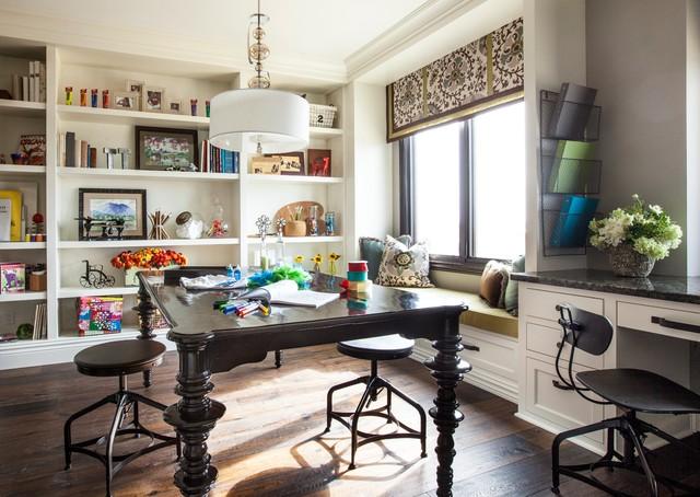 Craft Room Built In Storage Ideas