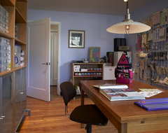 Craft Room contemporary-home-office
