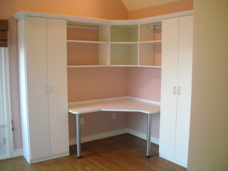 Craft Room with Murphy Bed - Traditional - Home Office - baltimore - by Emily Herder