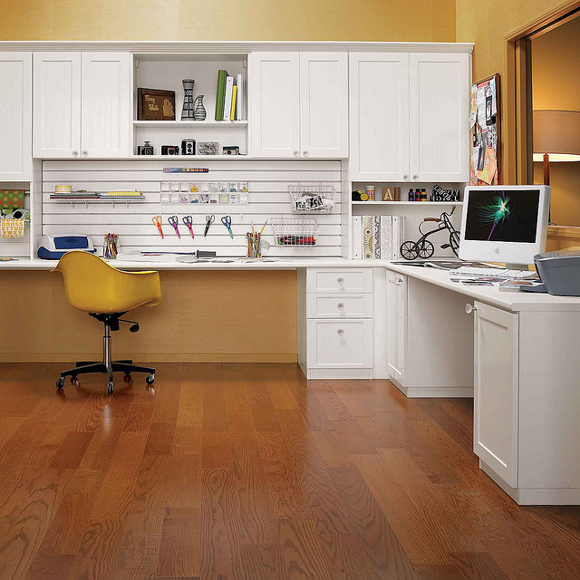 Craft Rooms contemporary-home-office