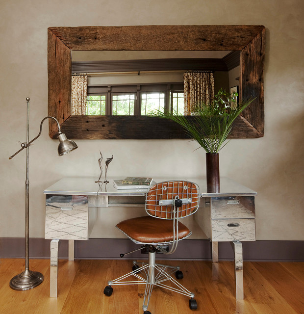 Eclectic Office: Craftsman Cool