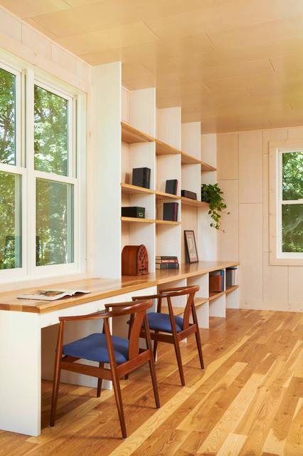 Crane Island Cabin - Modern - Home Office - Minneapolis ...