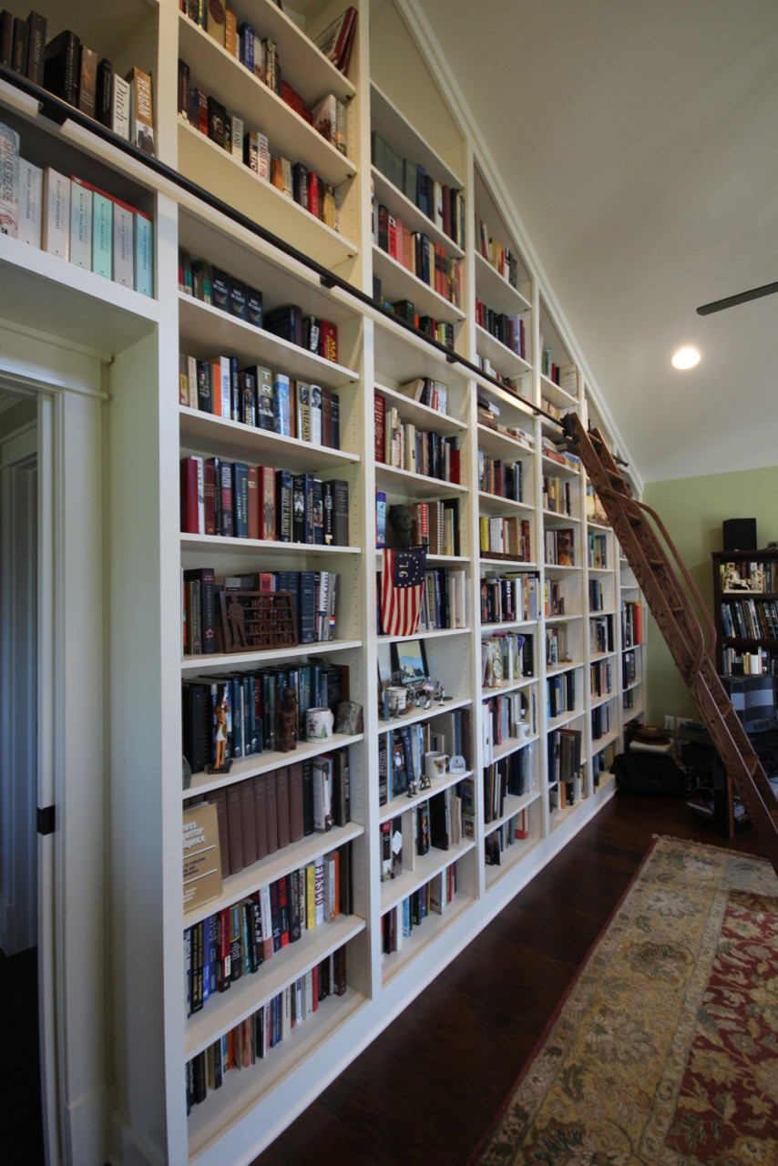 Crossroads Farm Custom Bookshelves