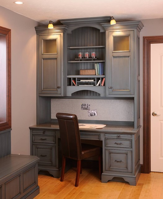 Custom Amish Cabinets traditional-home-office