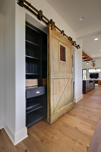Custom barn door to pantry for Custom barn doors for sale