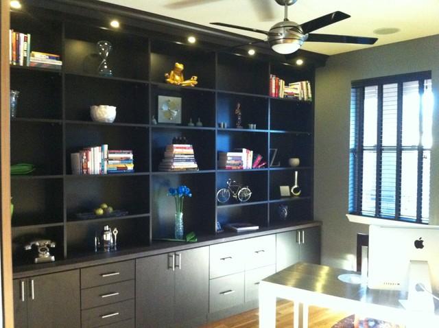 Custom Bookcase contemporary-home-office