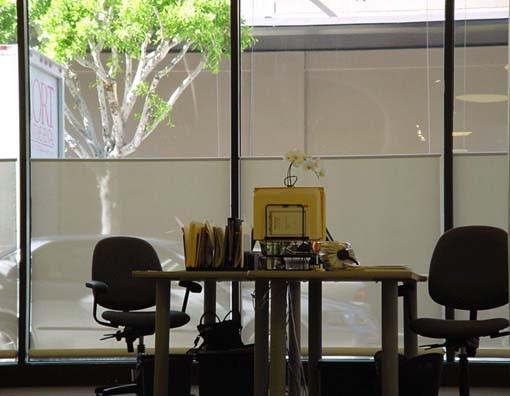 Custom Cutting Edge Drapery contemporary-home-office