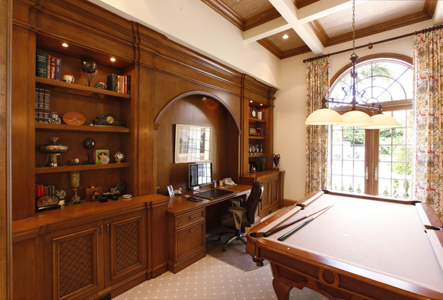 Custom Furniture for Home Office / Game Room traditional-home-office