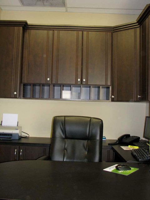 Custom Home Office Cabinets NJ - Contemporary - Home Office - new york ...