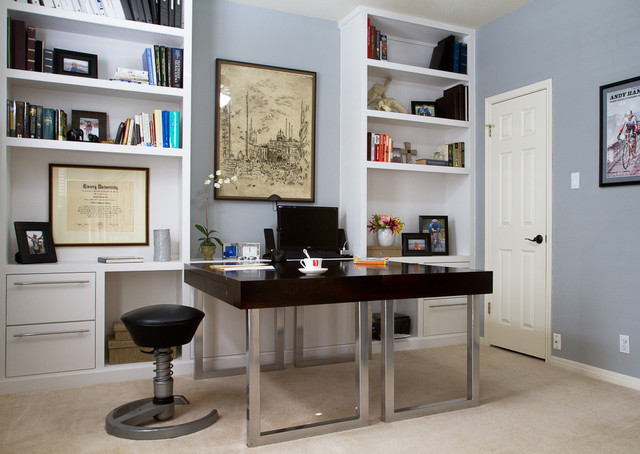 Custom Home Office Designs custom home office | houzz