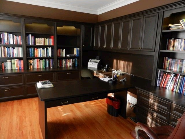 Custom home office designs in wilton ct traditional Custom home office design
