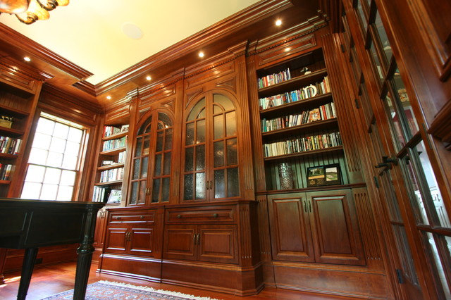 Custom Library Home Office