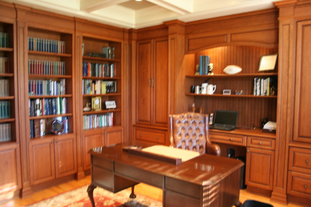Custom library for Custom home library design