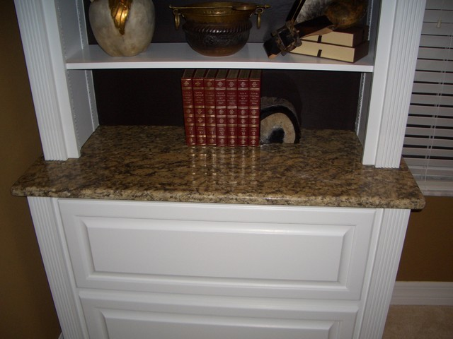 Custom Made Cabinets traditional-home-office