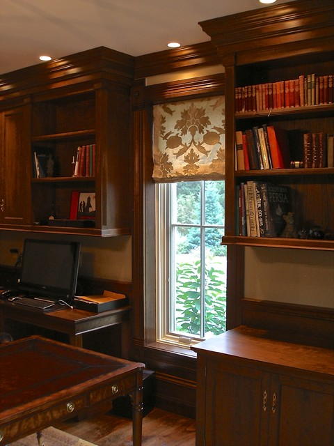 Custom Made Classic American Cherry Home Office Study