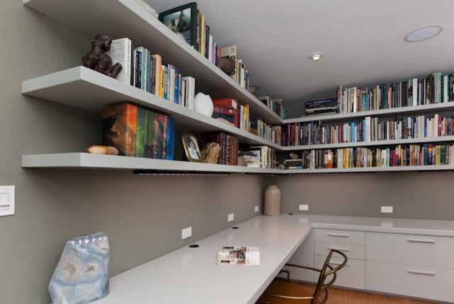 custom office built ins contemporary home office built home office