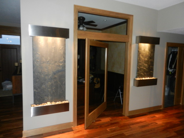 Custom Office Door - Contemporary - Home Office - other ...