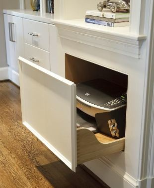 Custom storage Ideas | Interior Cabinet Accessories from Greenfield Cabinetry - Contemporary ...