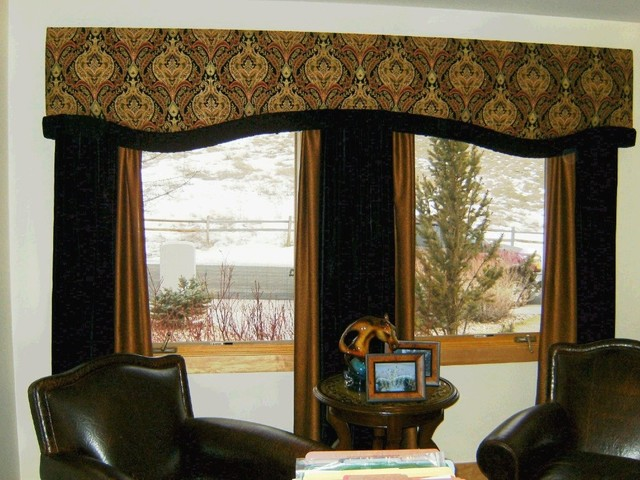 Custom Window Treatments And Bedding Traditional Home