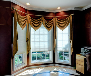 Custom Window Treatments Drapes Curtains Sheers Trims