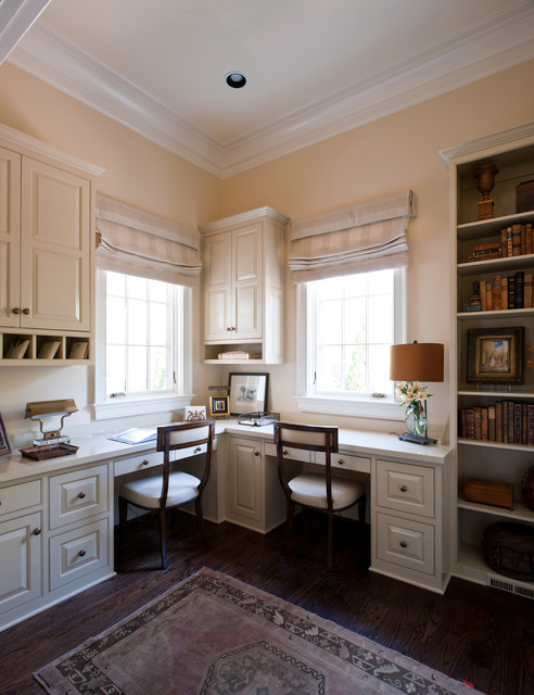 Dale Residence traditional-home-office