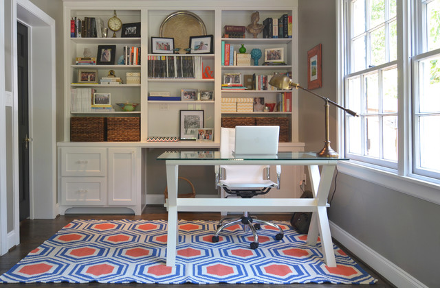 Dallas, TX: Ross & Megan Brown traditional-home-office