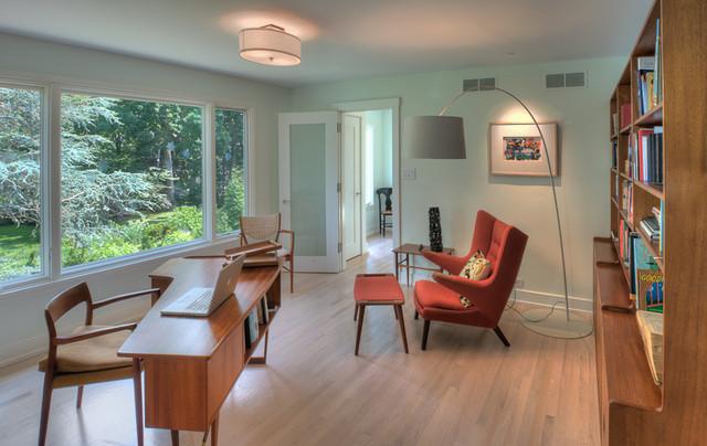 Danish Modern Modern Home Office Philadelphia By