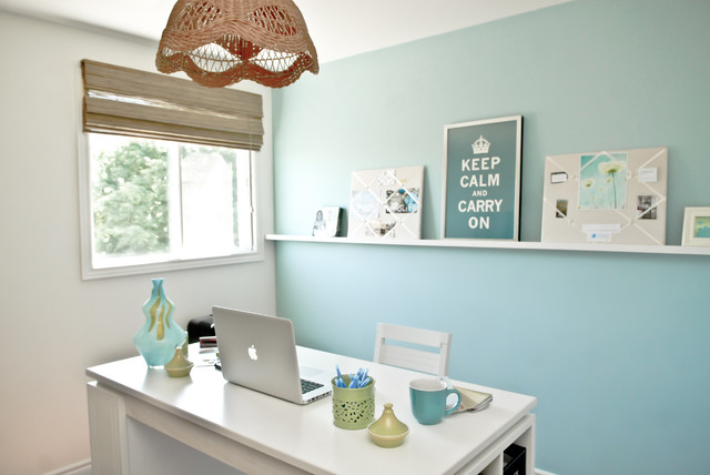 Darlene Paradis - Eclectic - Home Office - Toronto - by At Home Interior Design
