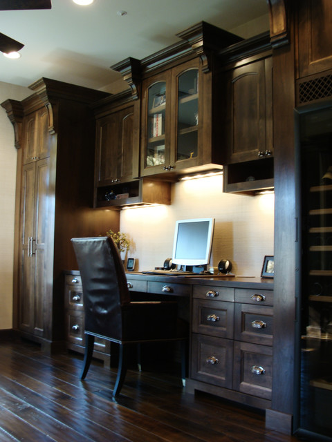 DC Ranch Office Addition mediterranean home office